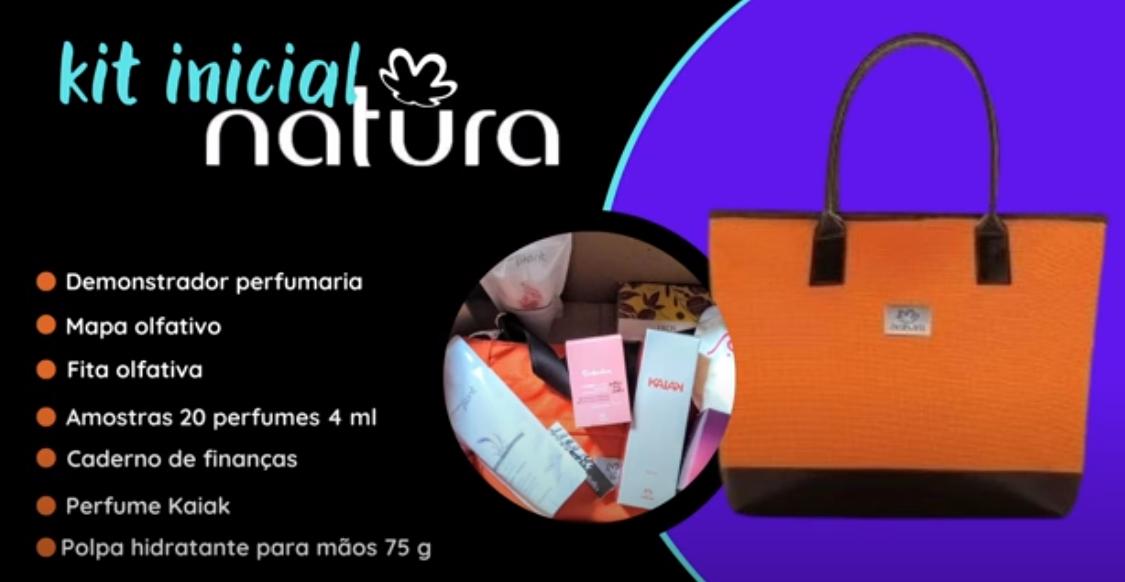 Kit inicial Natura Mais Perfumaria