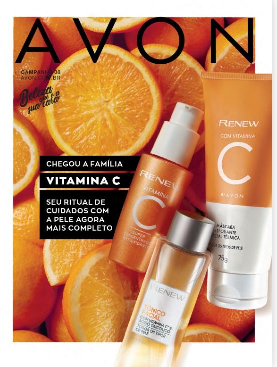Revista Avon - Campanha 8/2020