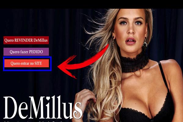 Catálogo Demillus - Como acessar