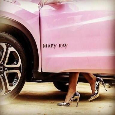 carro rosa mary kay