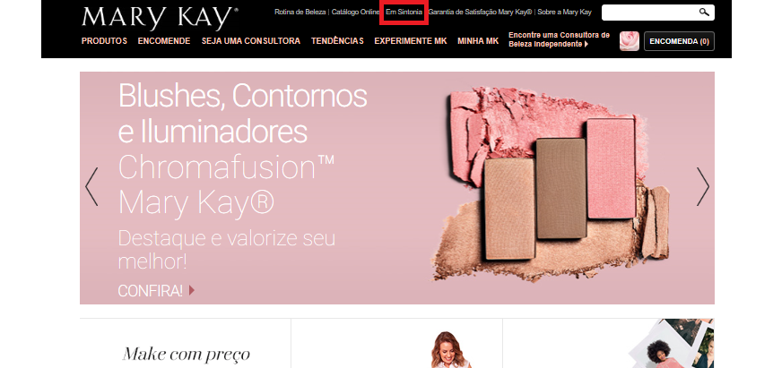 site oficial mary kay