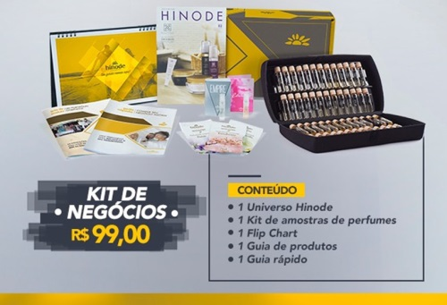 valor kit inicial hinode
