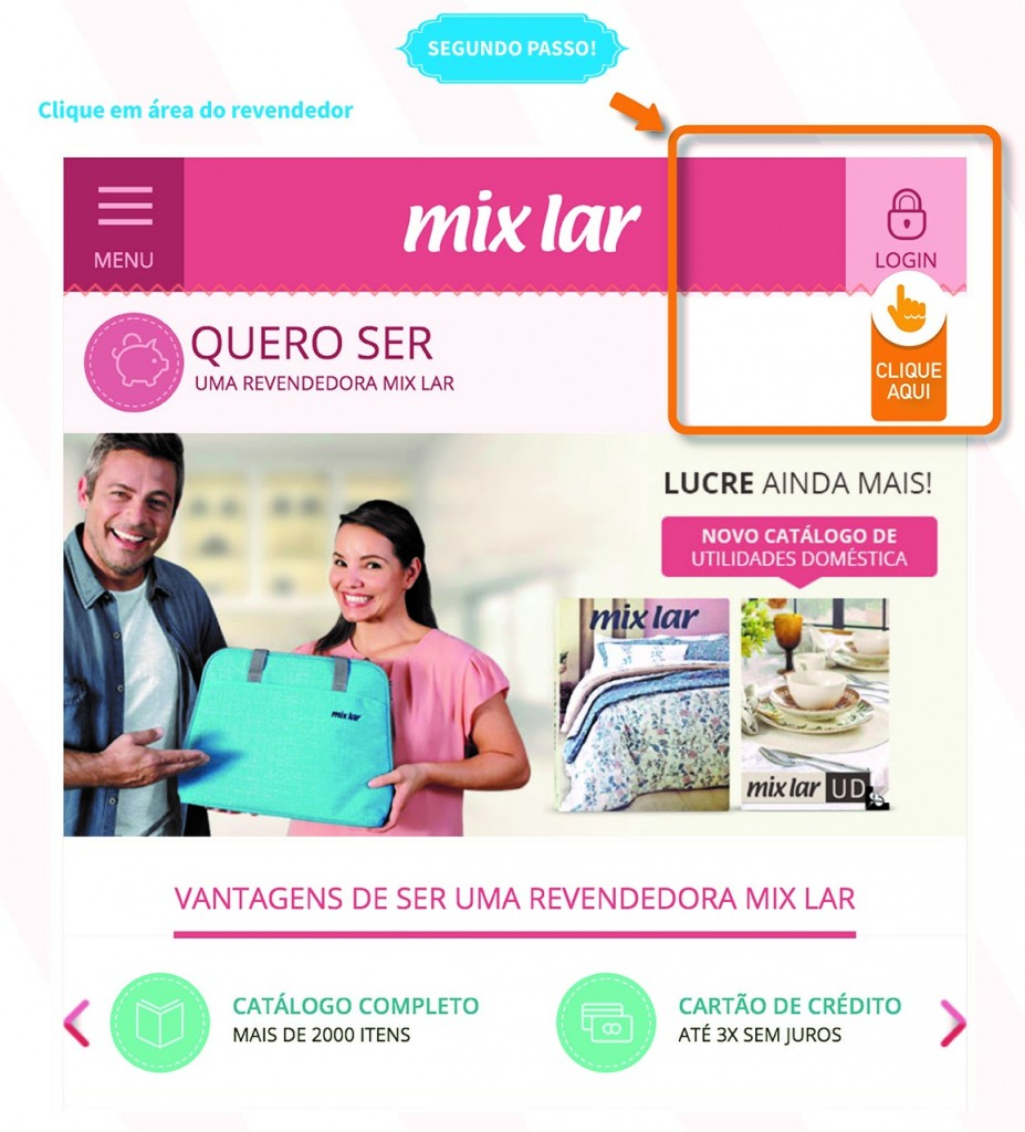 Login Mix Lar