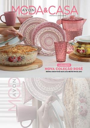 Folheto Avon Moda & Casa - Campanha 1/2021