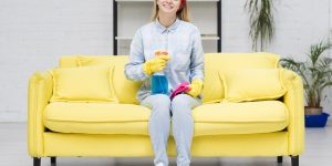 máquina de limpar sofá