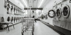 Lavadora de roupa industrial