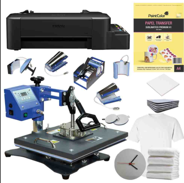 Kit Transfer para estamparia de camisetas