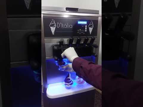 Máquina de sorvete d' italia