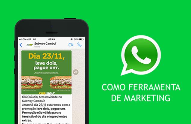 Marketing e vendas pelo Whatsapp
