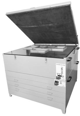 Mesa gravadora de telas master Ink