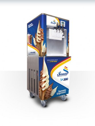 Sorvety máquina de sorvete