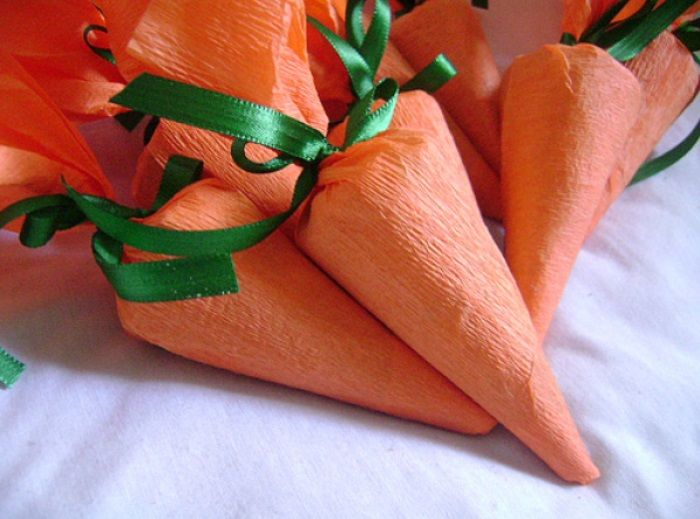 cenouras de doces para páscoa