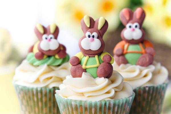 cupcake para páscoa