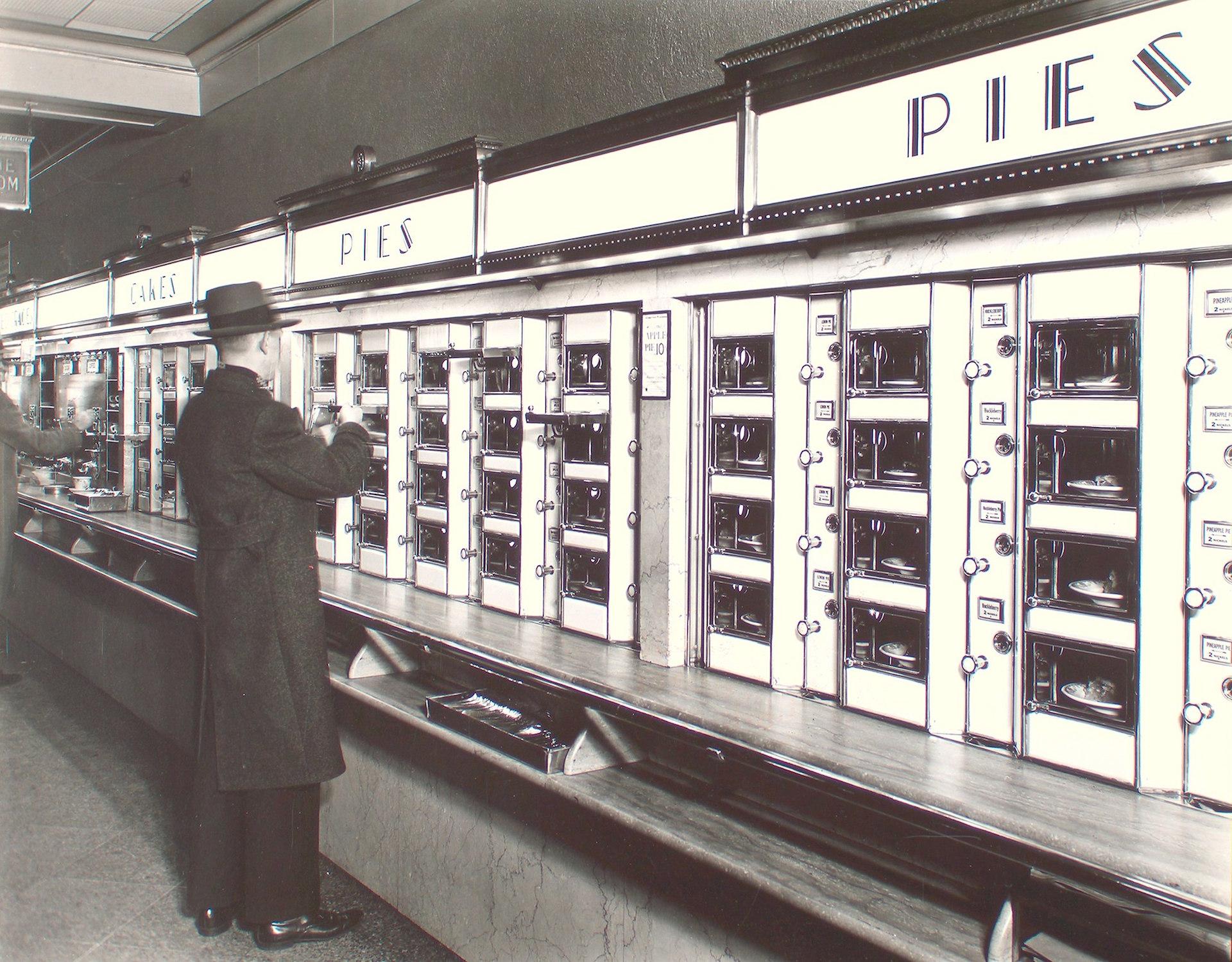 Criação das Vending Machines