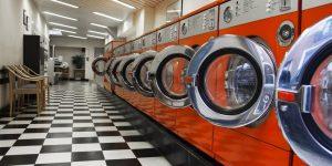 montar uma lavanderia
