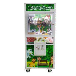 máquina de pegar ursinho multivisi