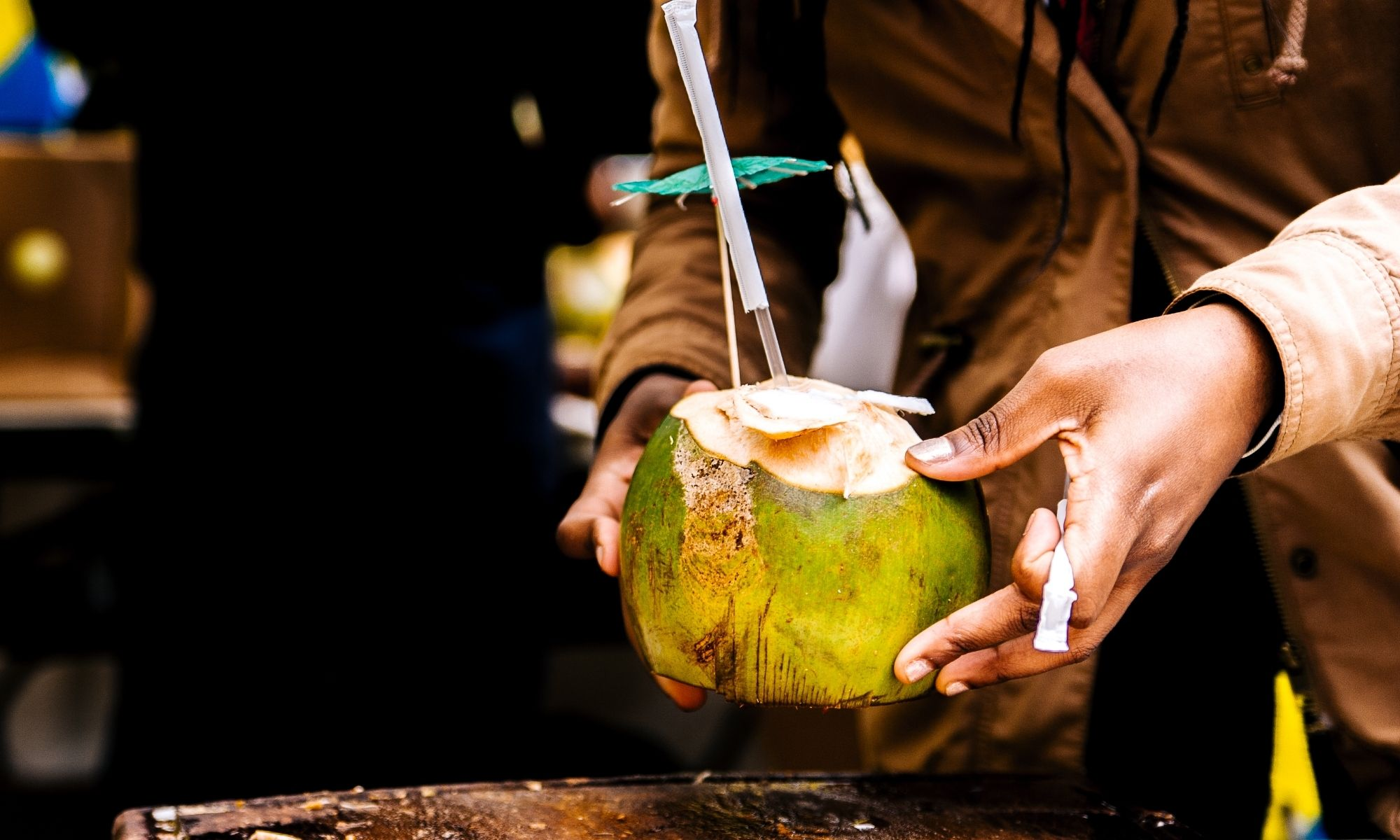 vender água de coco