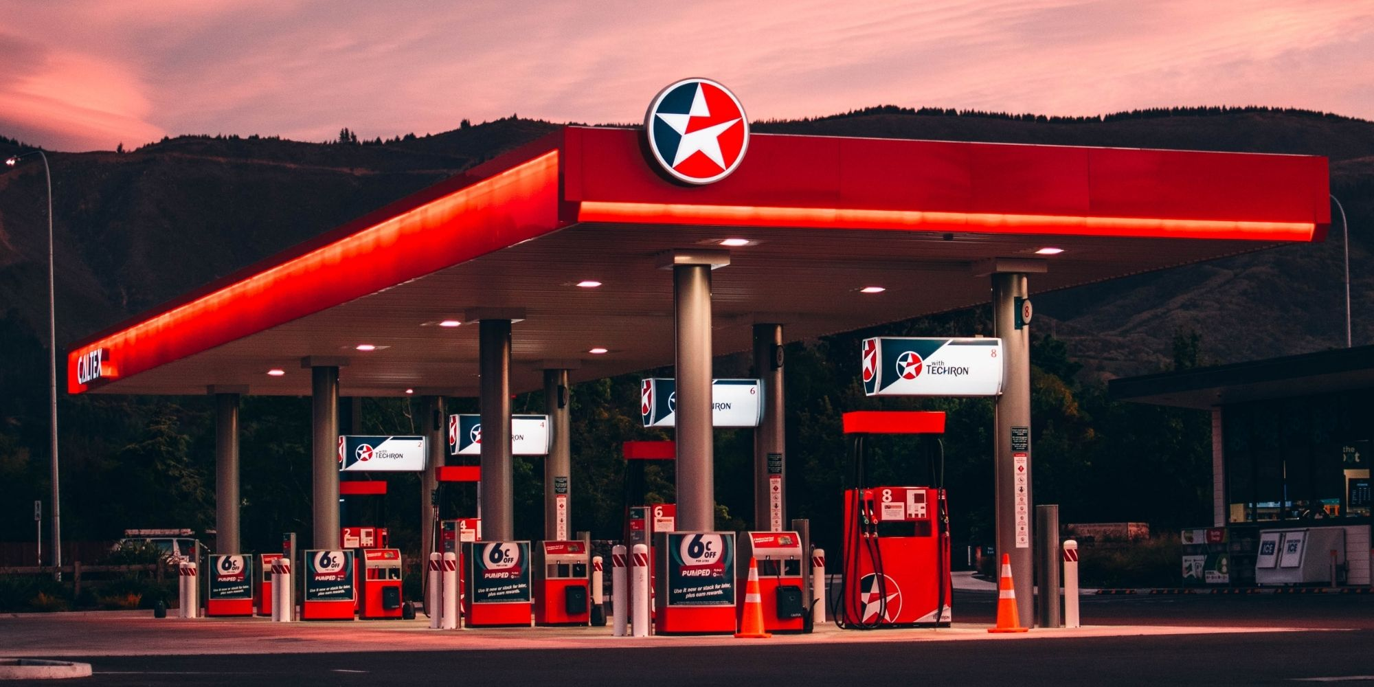 abrir posto de combustível
