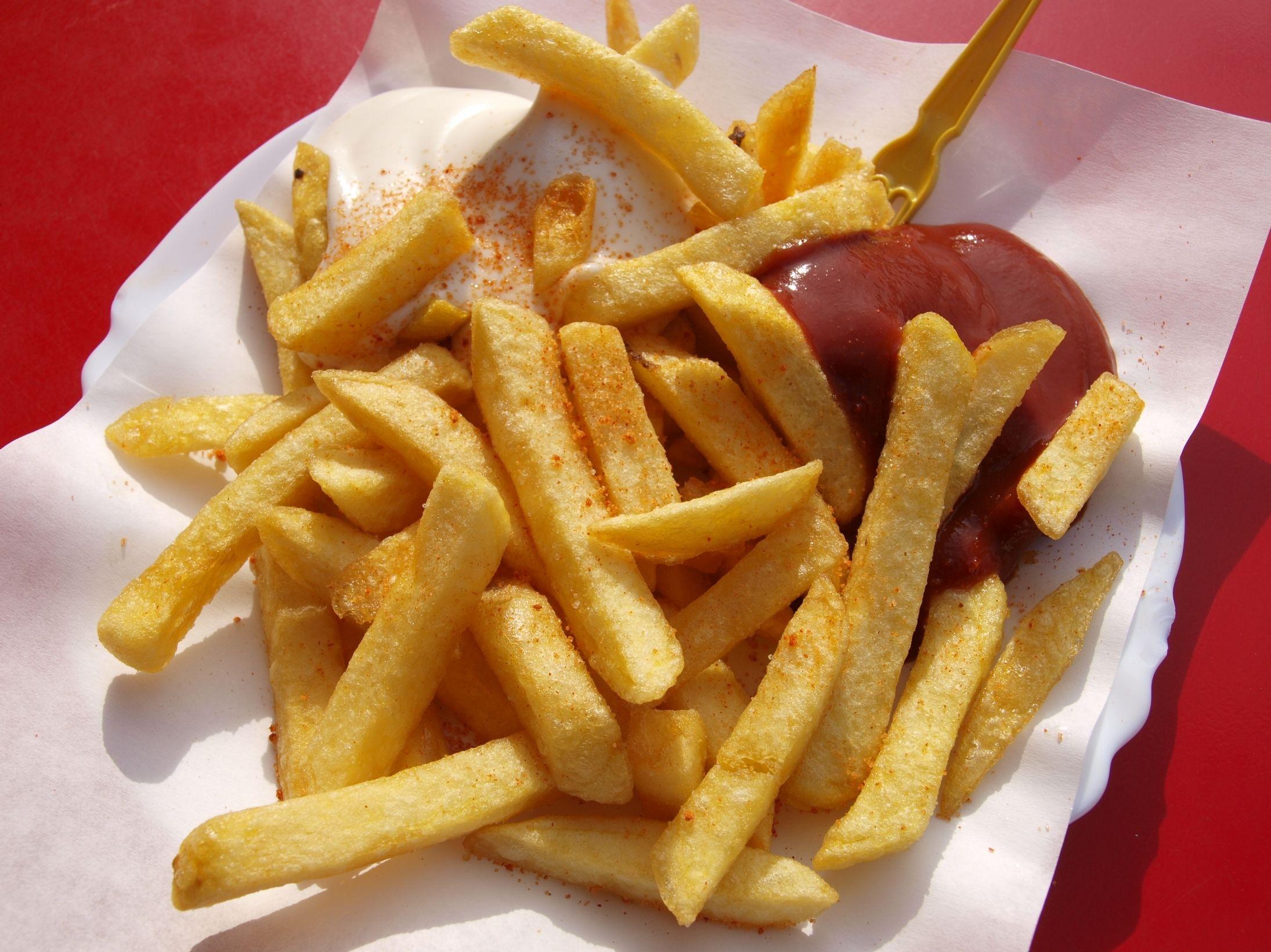 vender batata frita