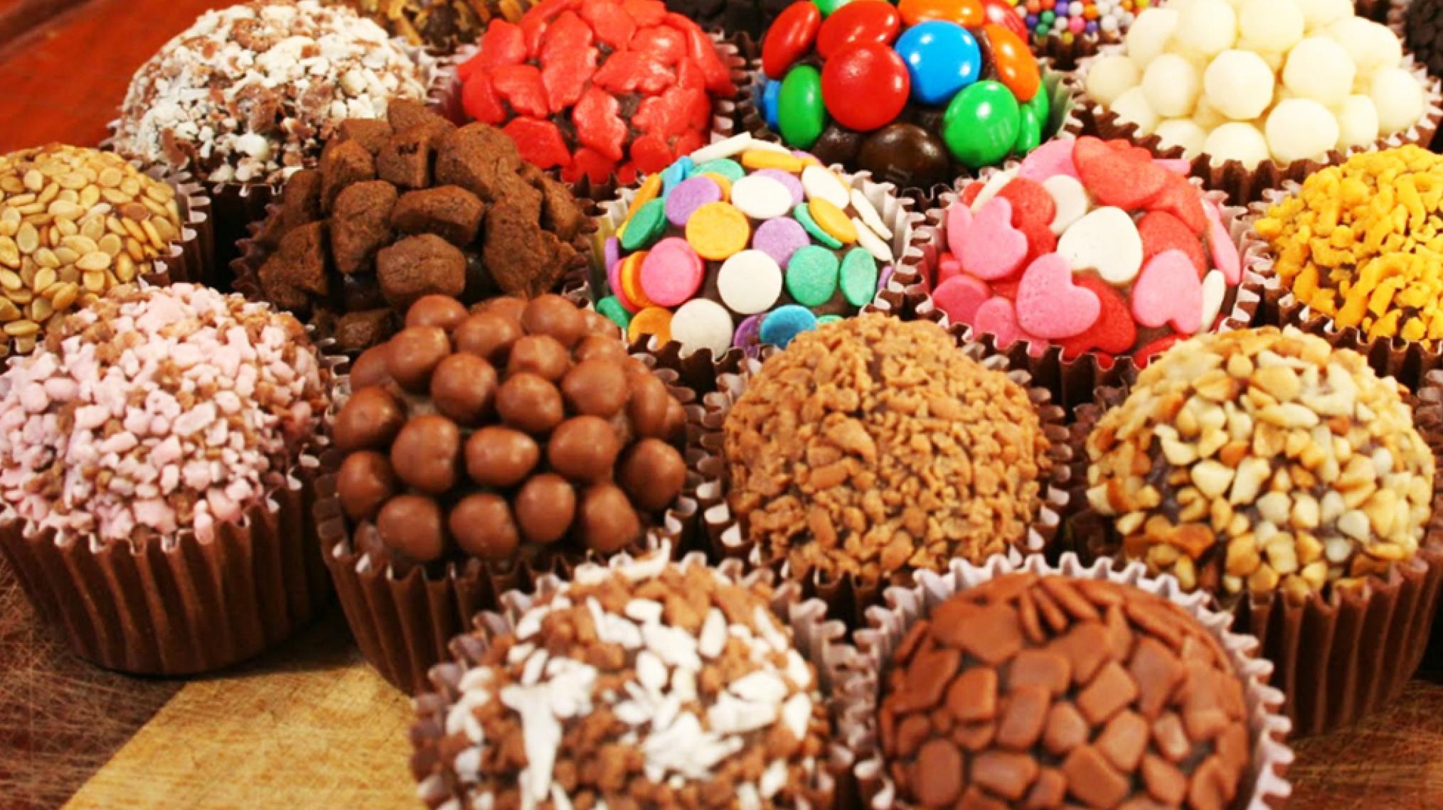 vender doces na rua