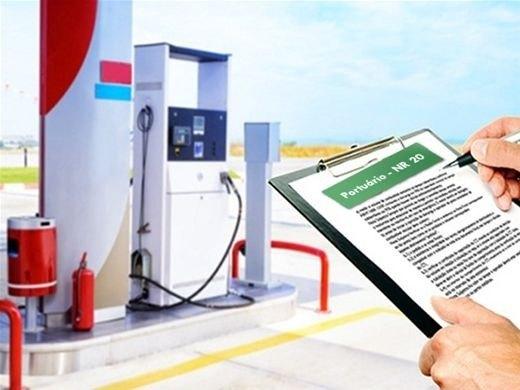documentação para posto de gasolina
