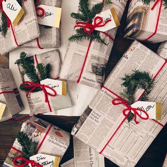 fazer embalagens caseiras jornal