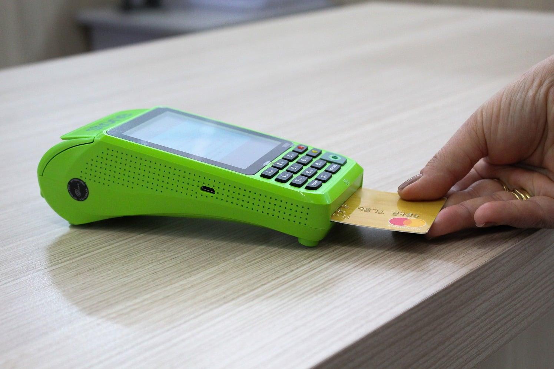 investir máquina de cartão