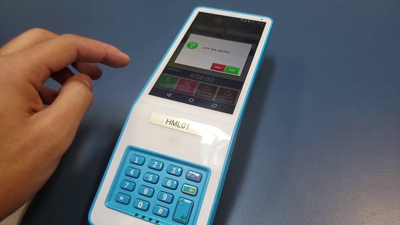 Máquina de cartão cielo Lio+
