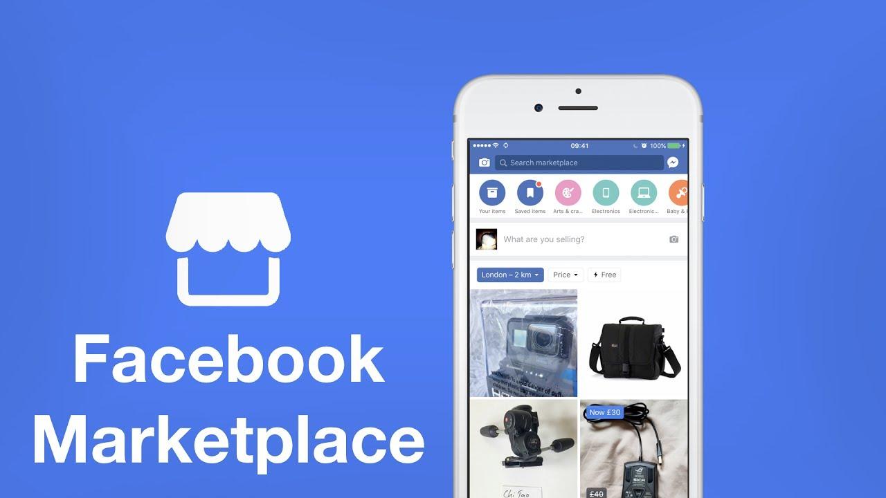 vender no facebook marketplace