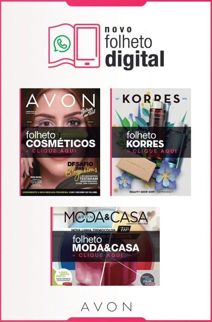 Folheto Digital Avon