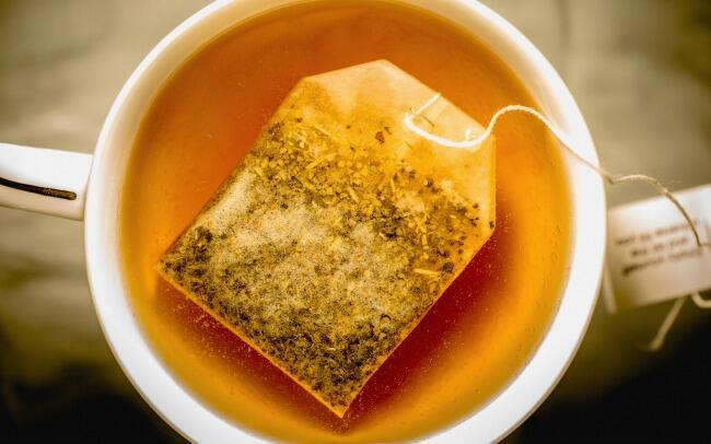 saquinhos de chás com mensagens