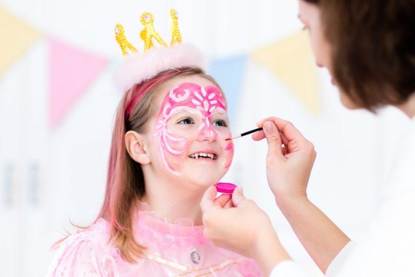 tendências dias das crianças 2021 camarim pintura