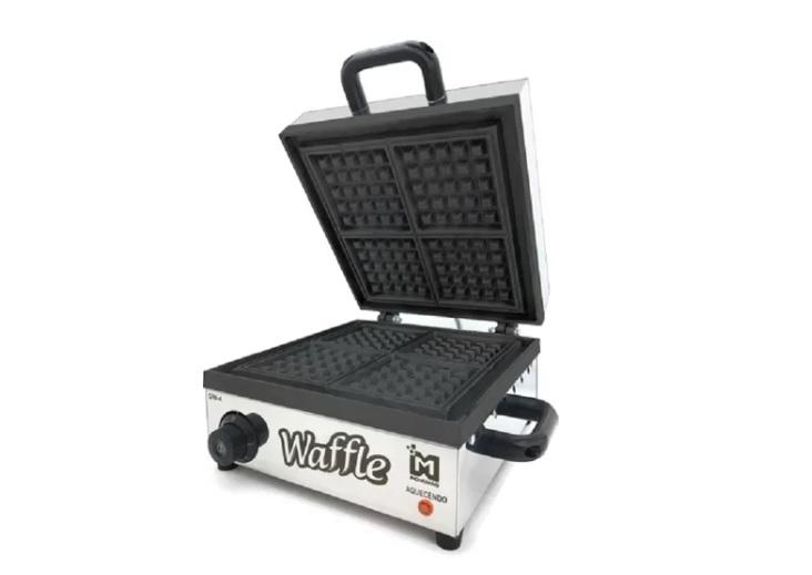 melhores máquinas de waffle
