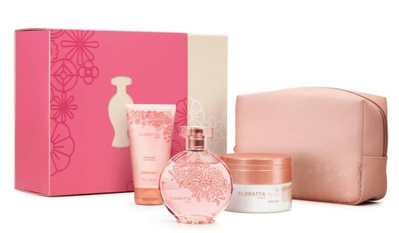 kit floratta rose boticário mais vendidos no dia dos namorados