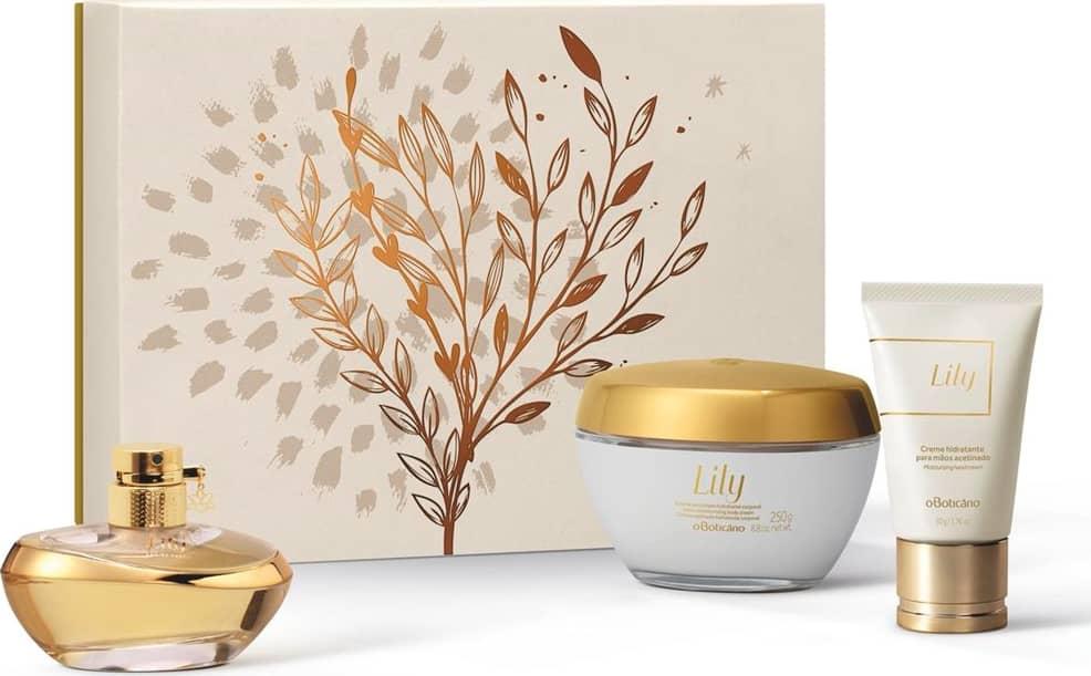 kit lily produtos boticário mais vendidos dia das mães