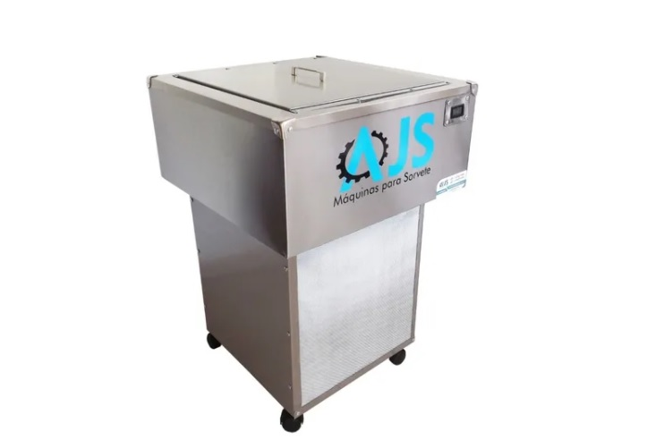 máquina de fazer sorvete picoleteira