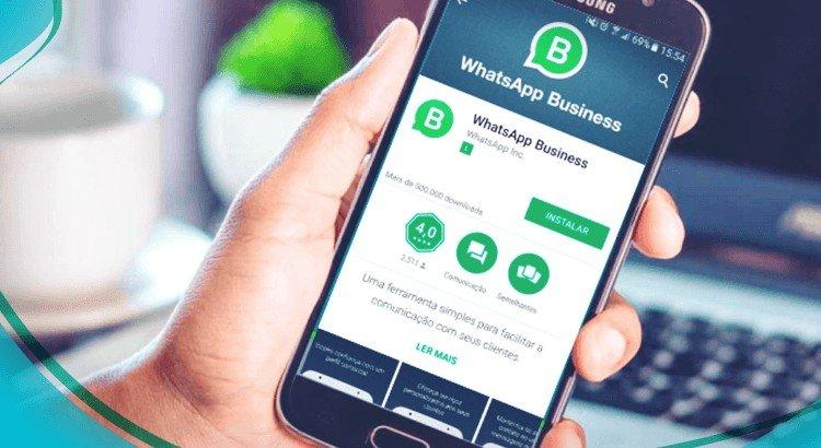 mensagem automática WhatasApp Business 1