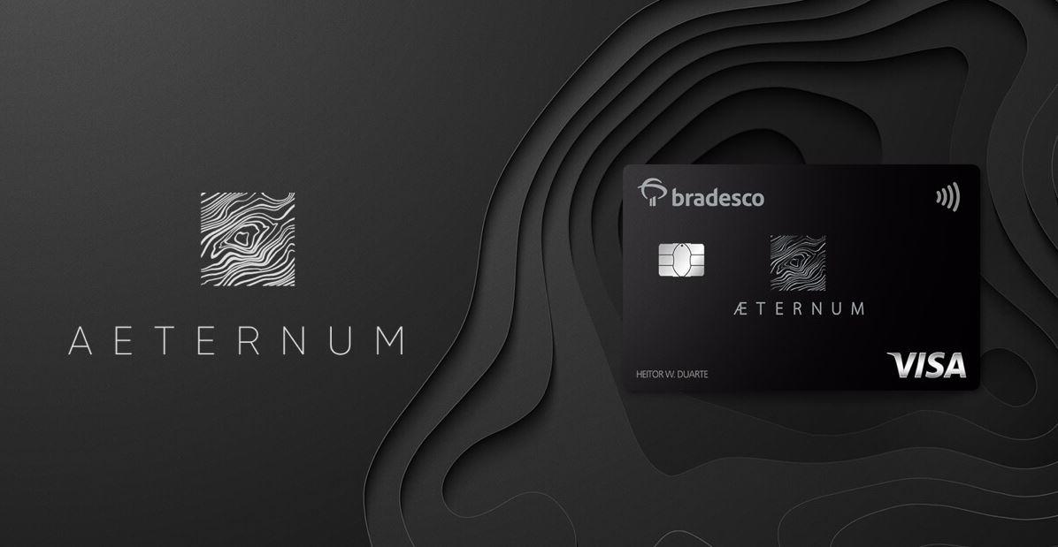 Cartão de crédito Bradesco Aeternum Visa Infinite (Imagem: Divulgação/Bradesco)