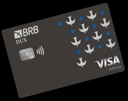 Cartão de crédito BRB Dux Visa Infinite (Imagem: Divulgação/BRB)