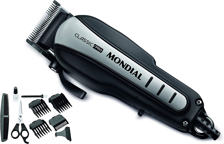Mondial Classic Pro CR-3 e seus acessórios (Imagem: Divulgação/Mondial)